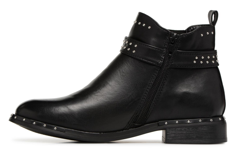 Bottines et boots I Love Shoes THACLOU Noir vue face