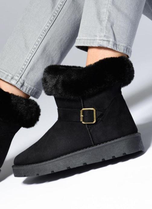 Stiefeletten & Boots I Love Shoes THEOCHAUD schwarz ansicht von unten / tasche getragen