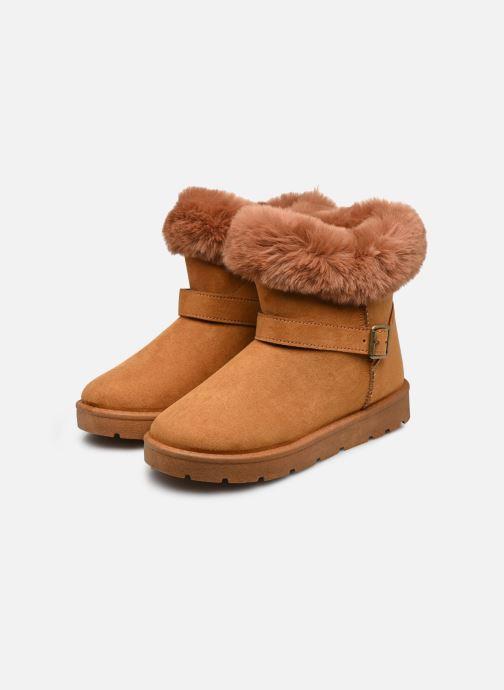 Bottines et boots I Love Shoes THEOCHAUD Marron vue bas / vue portée sac
