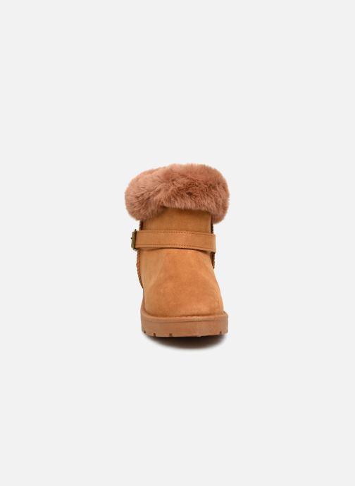 Stiefeletten & Boots I Love Shoes THEOCHAUD braun schuhe getragen