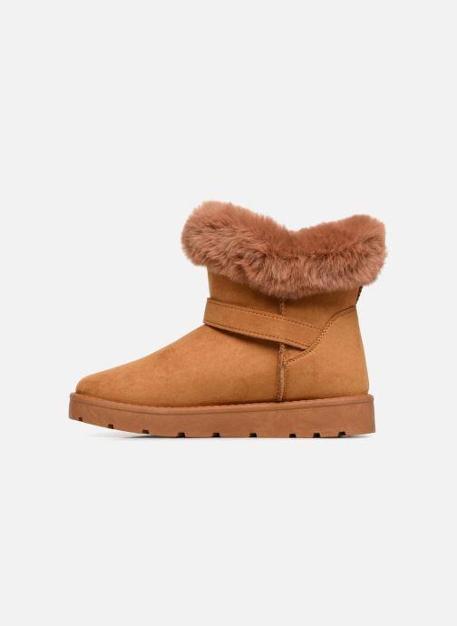 Bottines et boots I Love Shoes THEOCHAUD Marron vue face