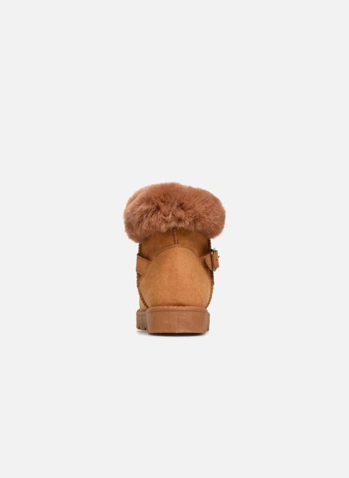 Bottines et boots I Love Shoes THEOCHAUD Marron vue droite