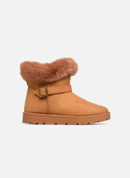 Botines  I Love Shoes THEOCHAUD Marrón vistra trasera