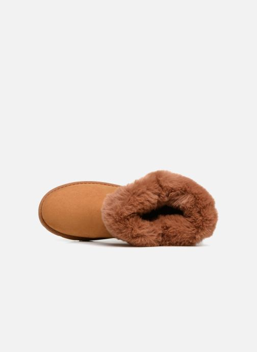 Botines  I Love Shoes THEOCHAUD Marrón vista lateral izquierda