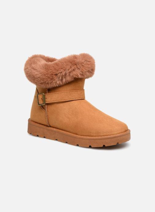 Botines  I Love Shoes THEOCHAUD Marrón vista de detalle / par