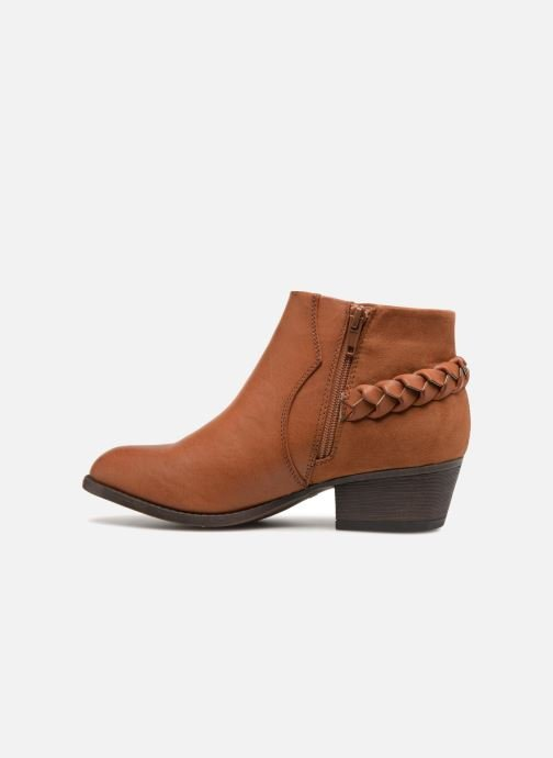 Ankle boots I Love Shoes THITI Brown front view