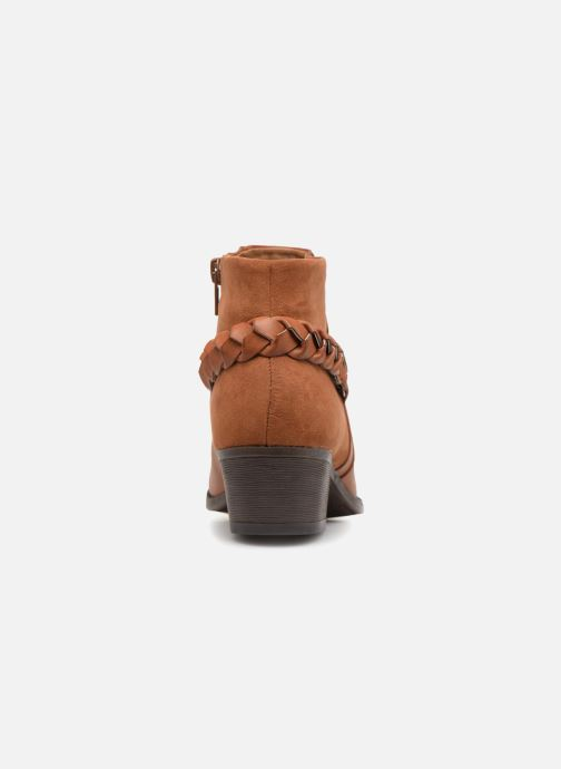 Ankle boots I Love Shoes THITI Brown view from the right