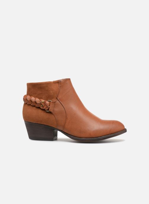 Ankle boots I Love Shoes THITI Brown back view