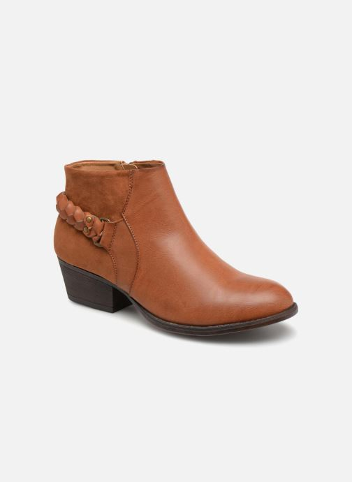 Ankle boots I Love Shoes THITI Brown detailed view/ Pair view