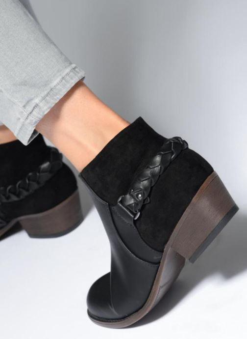 Bottines et boots I Love Shoes THITI Noir vue bas / vue portée sac