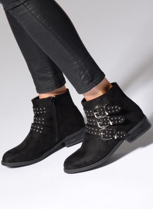 Botines  I Love Shoes THRIDA Negro vista de abajo