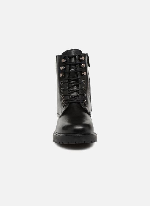 Boots en enkellaarsjes I Love Shoes THERANGER Leather Zwart model