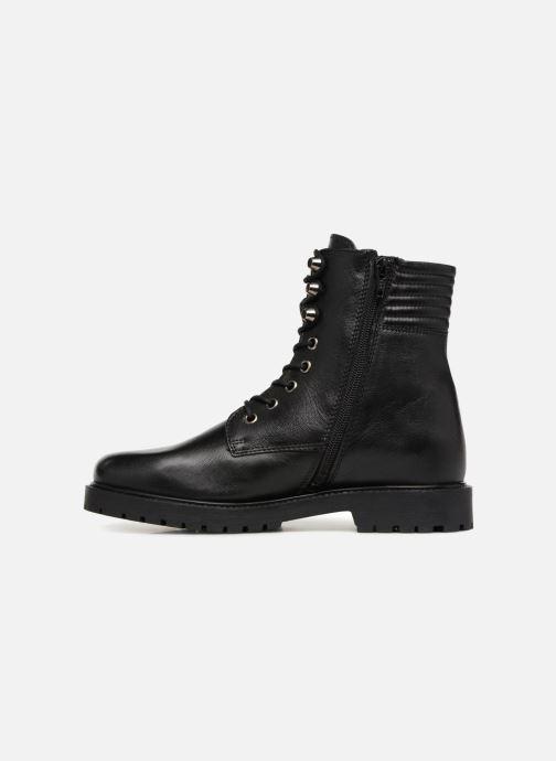Boots en enkellaarsjes I Love Shoes THERANGER Leather Zwart voorkant