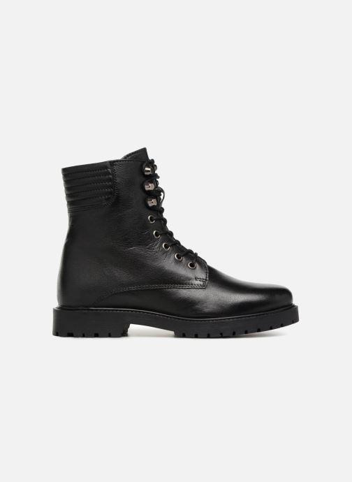 Boots en enkellaarsjes I Love Shoes THERANGER Leather Zwart achterkant