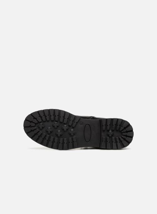 Boots en enkellaarsjes I Love Shoes THERANGER Leather Zwart boven