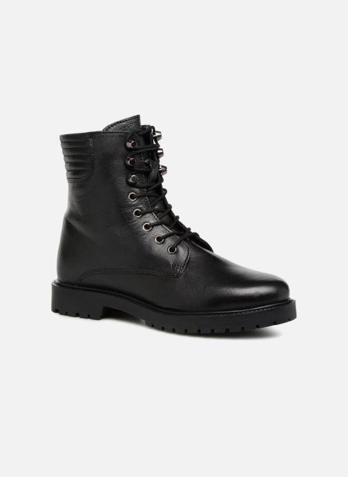 Bottines et boots I Love Shoes THERANGER Leather Noir vue détail/paire