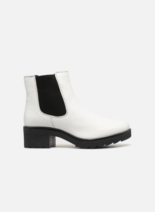 Ankle boots I Love Shoes THELANA Leather White back view