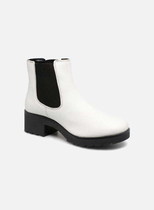 Ankle boots I Love Shoes THELANA Leather White detailed view/ Pair view