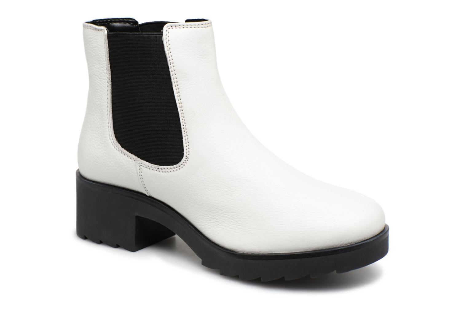 Bottines et boots I Love Shoes THELANA Leather Blanc vue détail/paire