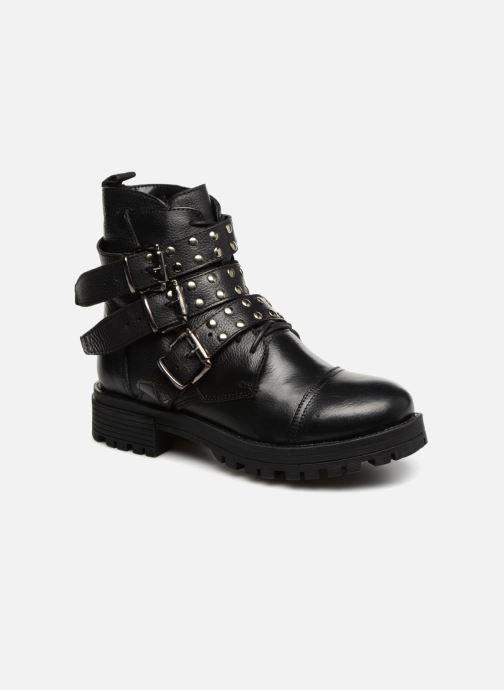 Botines  I Love Shoes THIBOUCLE Leather Negro vista de detalle / par