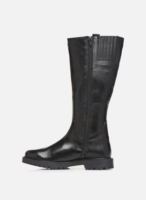 Bottes I Love Shoes THOLANA Leather Noir vue face