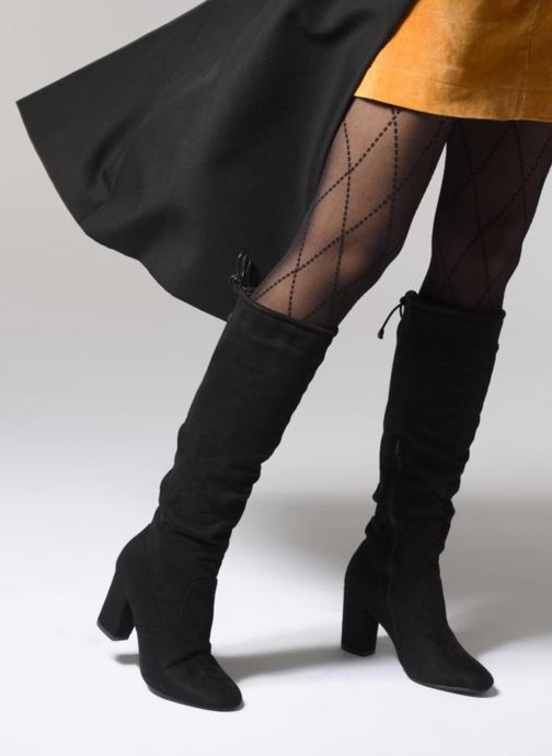 Boots & wellies I Love Shoes THERA Black view from underneath / model view