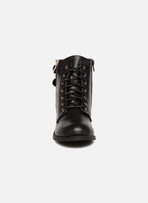 Stivaletti e tronchetti I Love Shoes THIBOA Nero modello indossato