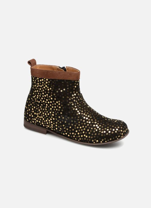 Boots en enkellaarsjes PèPè Elga Bruin detail