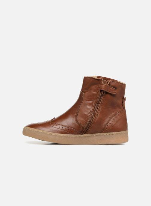 Boots en enkellaarsjes PèPè Pal Bruin voorkant