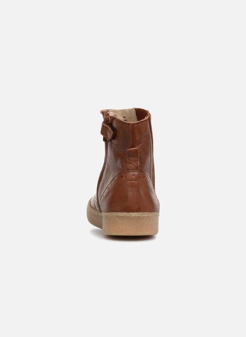 Bottines et boots PèPè Pal Marron vue droite