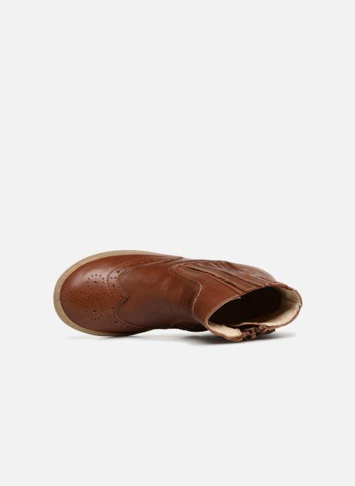 Bottines et boots PèPè Pal Marron vue gauche