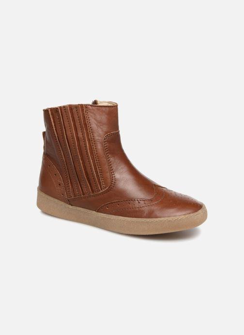 Boots en enkellaarsjes PèPè Pal Bruin detail