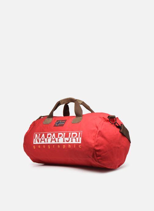 Sacs de sport Napapijri Bering 1 Rouge vue portées chaussures