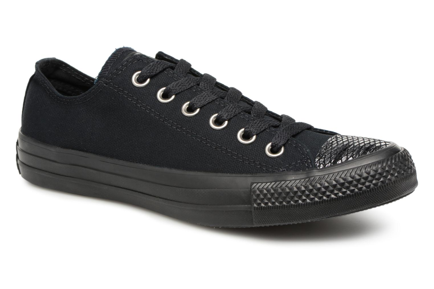 1b1bf6c83a7c Trainers Converse Chuck Taylor All Star Ox Sequins W Black detailed view   Pair view