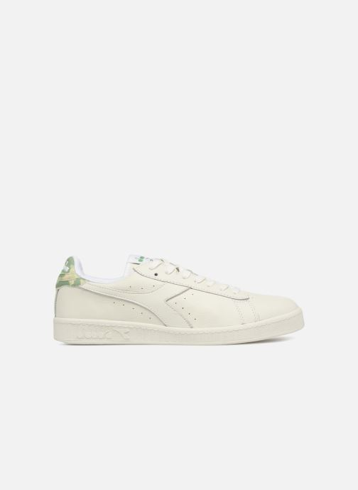 Trainers Diadora GAME L LOW CAMO White back view