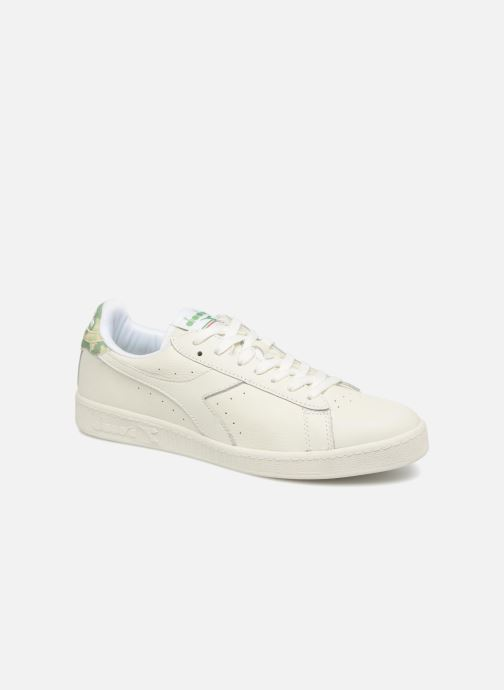 Trainers Diadora GAME L LOW CAMO White detailed view/ Pair view