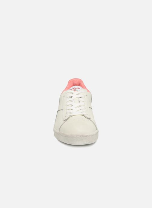Trainers Diadora GAME L LOW JERSEY White model view