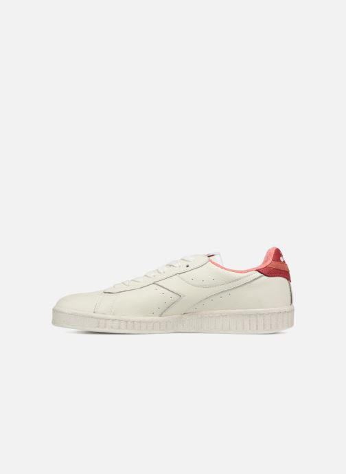Trainers Diadora GAME L LOW JERSEY White front view