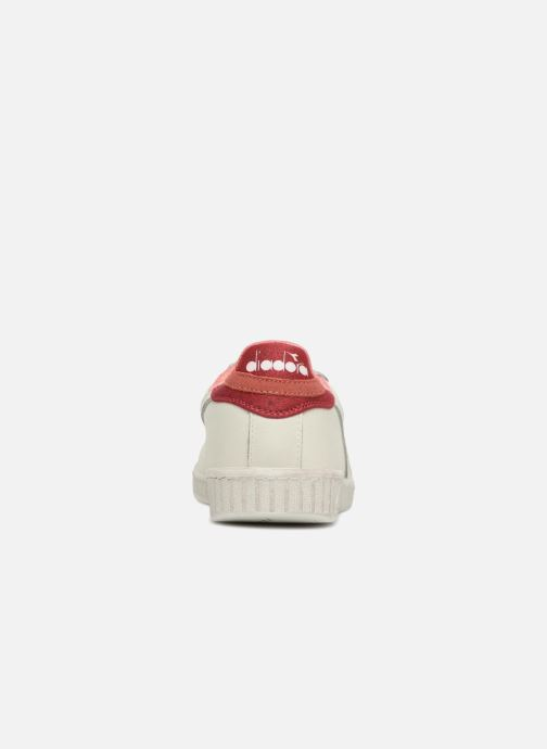 Trainers Diadora GAME L LOW JERSEY White view from the right