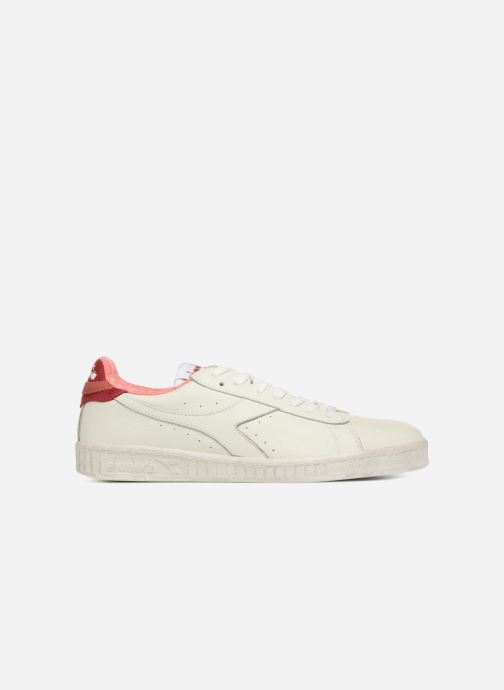 Trainers Diadora GAME L LOW JERSEY White back view
