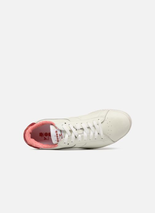 Trainers Diadora GAME L LOW JERSEY White view from the left