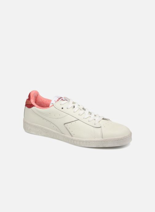 Trainers Diadora GAME L LOW JERSEY White detailed view/ Pair view
