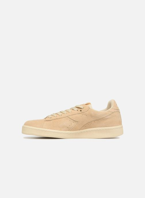 Baskets Diadora GAME LOW S W Beige vue face