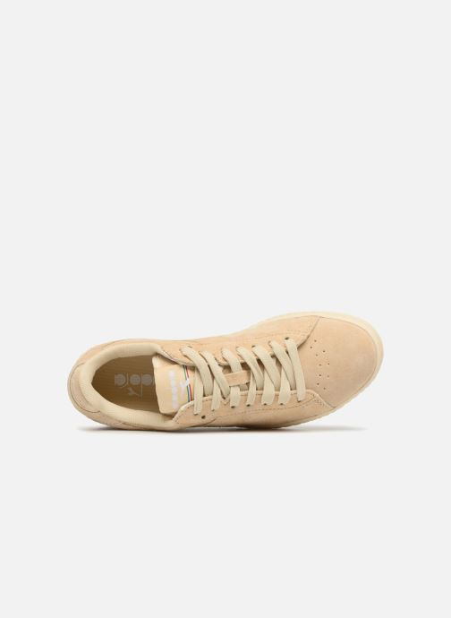 Baskets Diadora GAME LOW S W Beige vue gauche