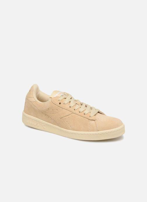 Baskets Diadora GAME LOW S W Beige vue détail/paire