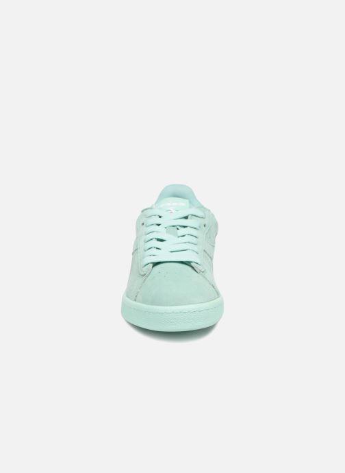 Baskets Diadora GAME LOW S W Vert vue portées chaussures