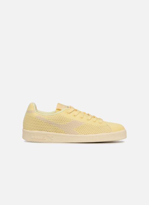 Sneakers Diadora GAME WEAVE W Geel achterkant