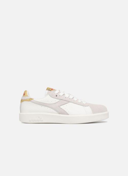 Sneaker Diadora GAME WIDE XMAS weiß ansicht von hinten