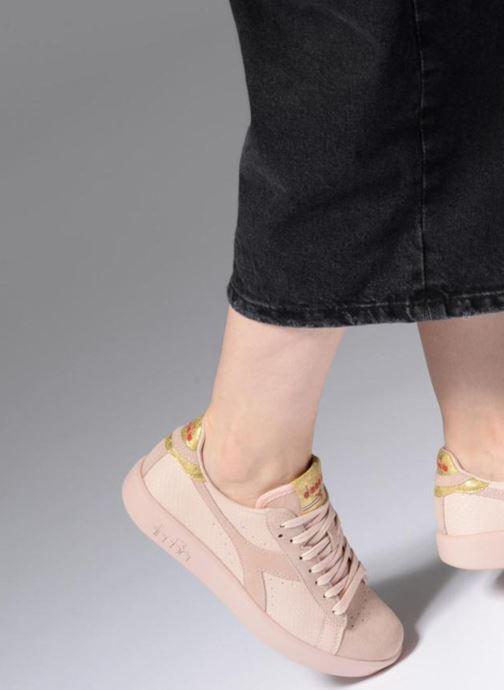 Sneakers Diadora GAME WIDE XMAS Rosa bild från under