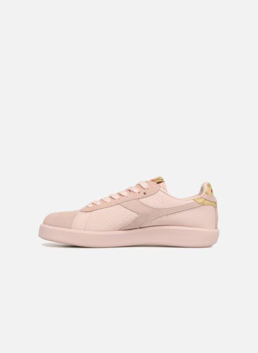 Sneakers Diadora GAME WIDE XMAS Roze voorkant